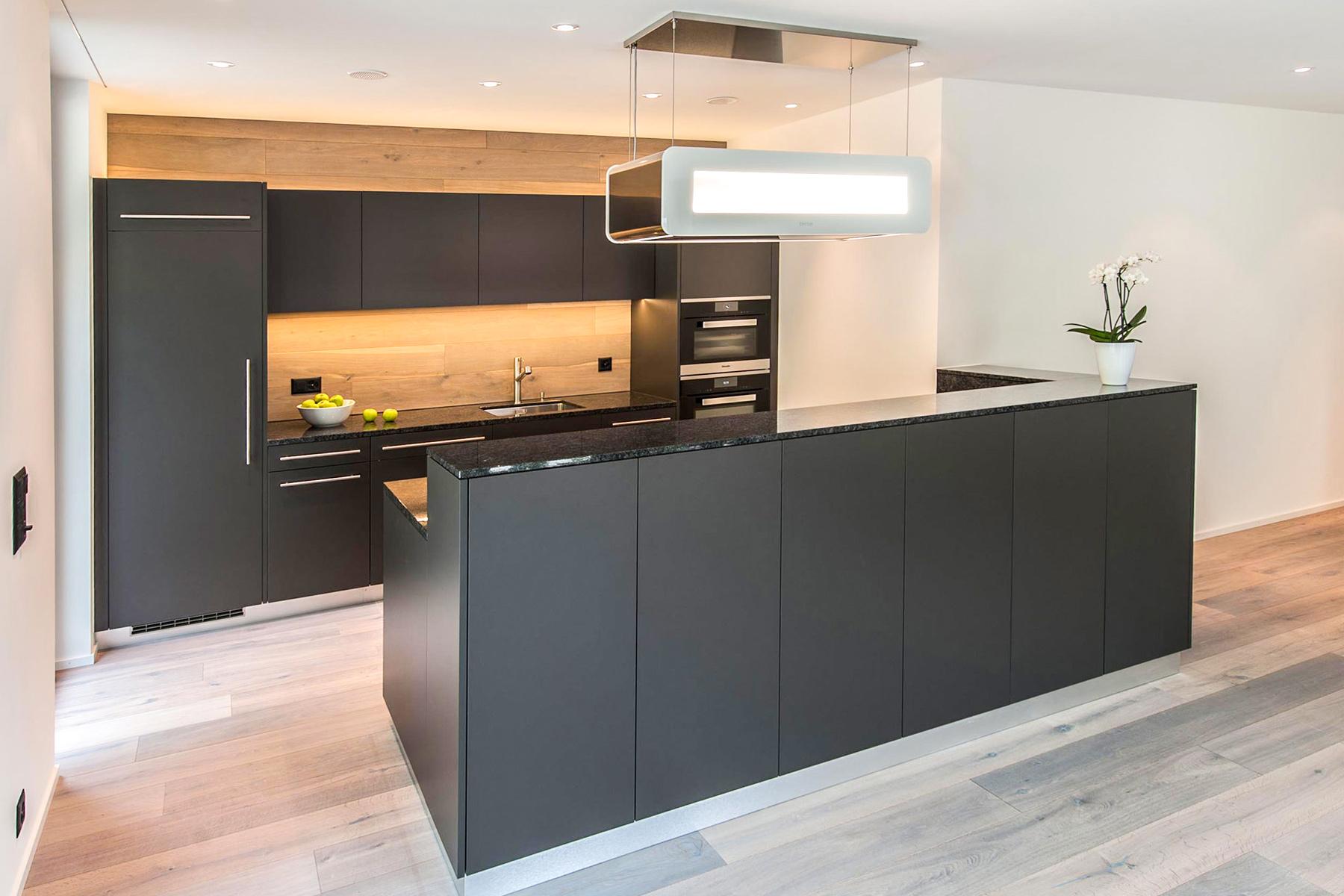 Küche Kunstharz - Basalt Naturstein