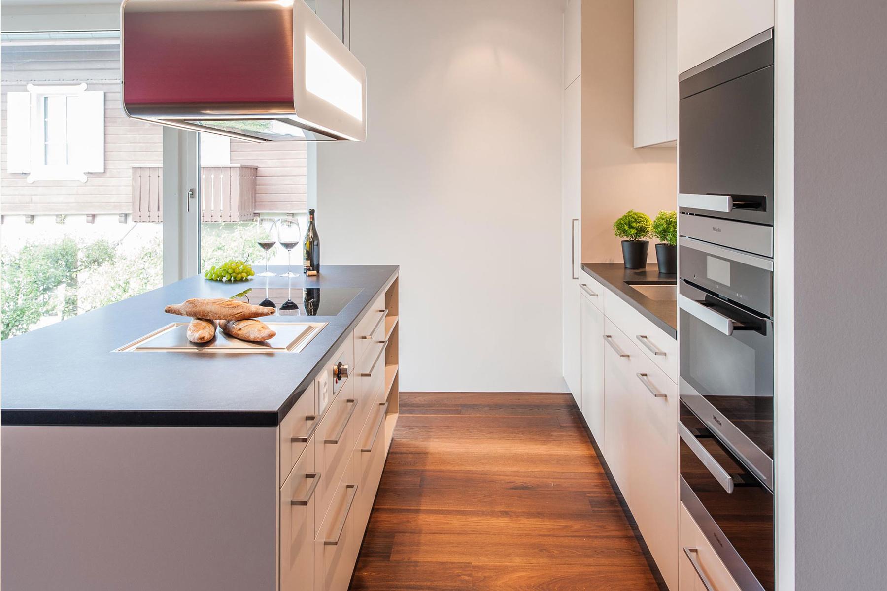 Küche Kunstharz Beige Naturstein